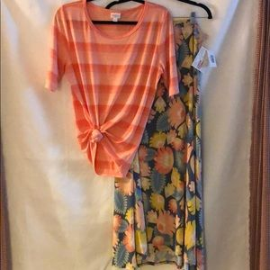 🤗LuLaRoe Gigi Maxie Outfit...New & Used